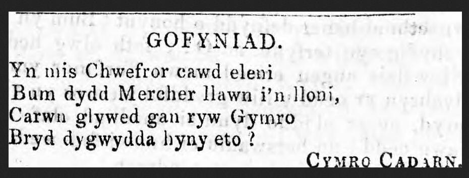 cymro-cadarn