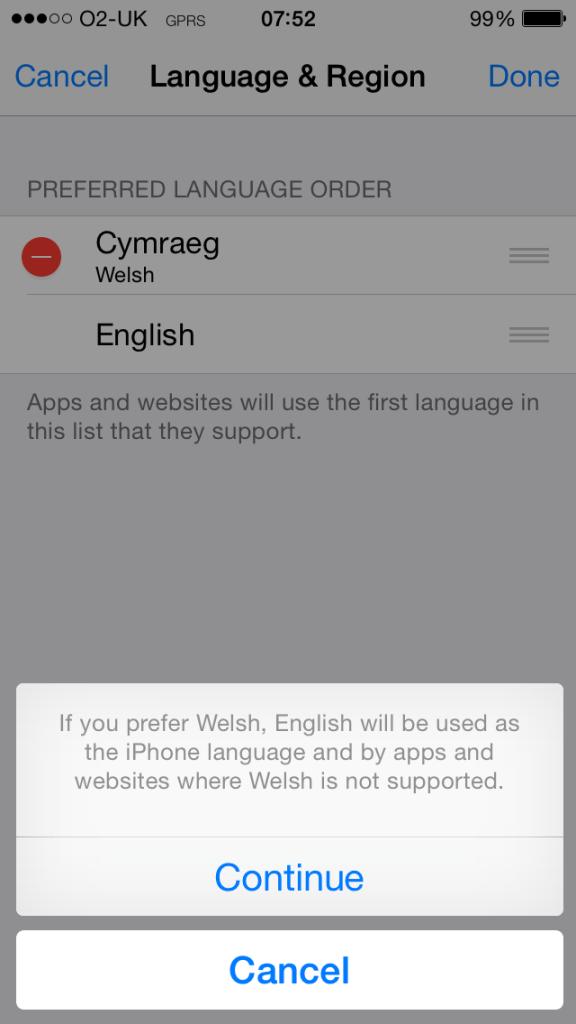iOS8 7