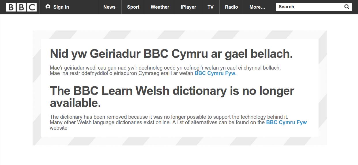 rip-bbc-geiriadur