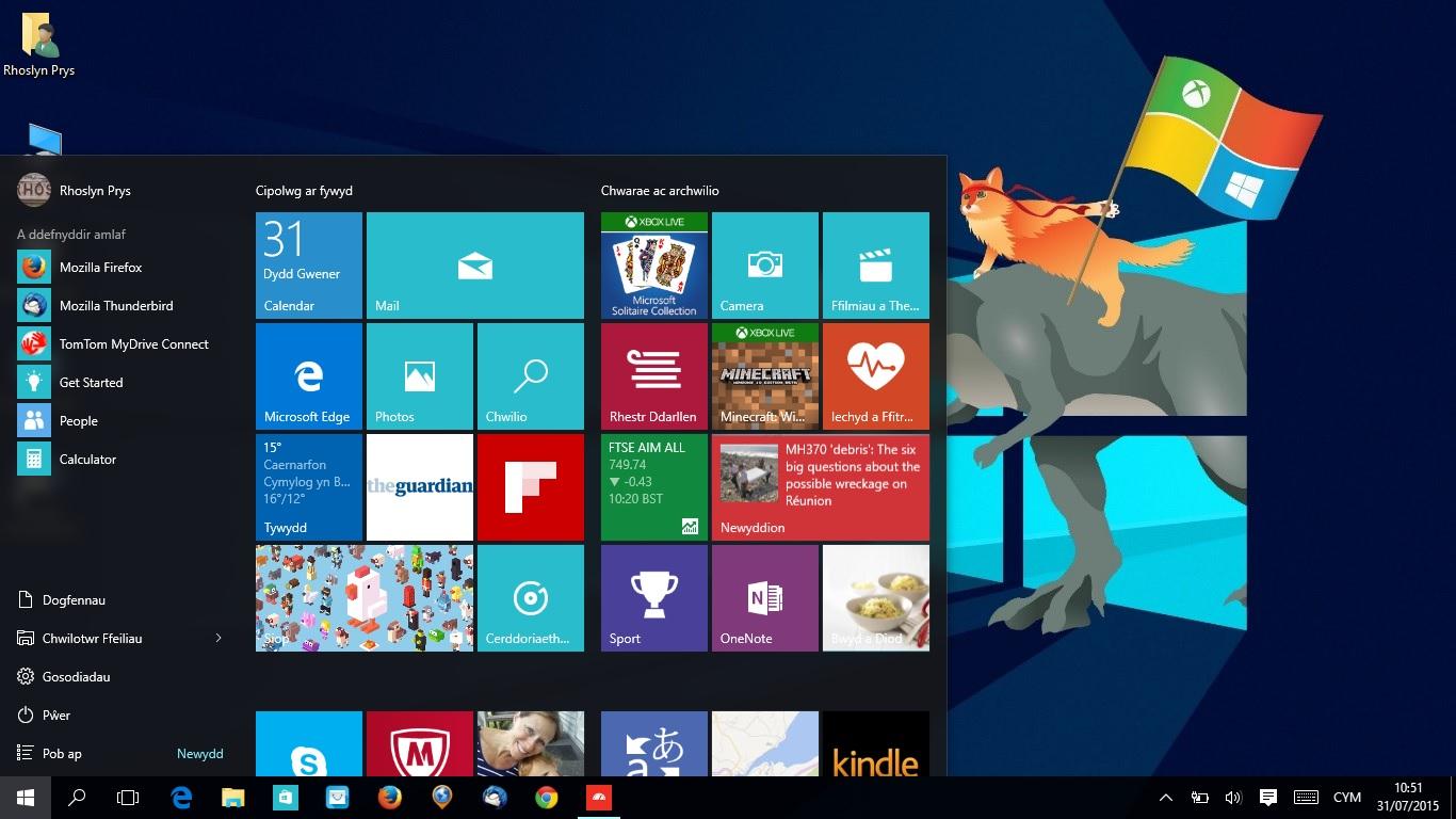 windows 10 ár